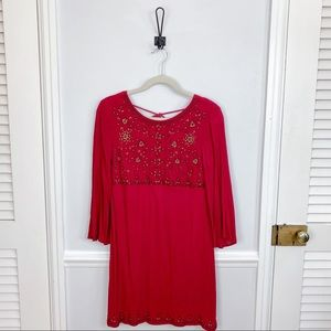 Altar'd State Beaded Bell Sleeve Dress